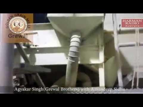 Golden Grain Flour mill wheat production