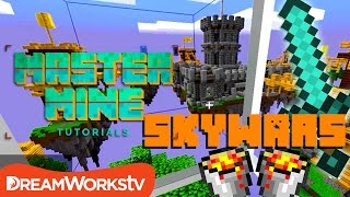 Skywars Tip & Tricks to Win in Minecraft with Finsgraphics | MASTER MINE TUTORIALS