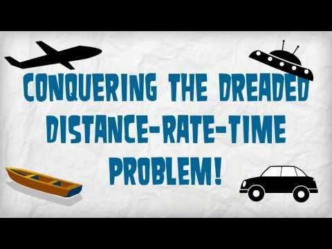 Distance-Rate-Time Problems - Not as difficult as they seem