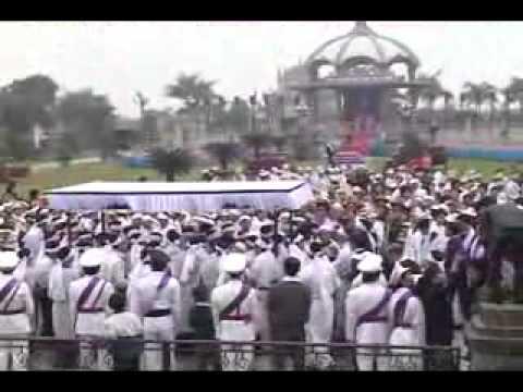 lễ an táng cha Giuse Vũ Văn Đại 11 đền thánh Sa Châu làng Gòi Giao Châu