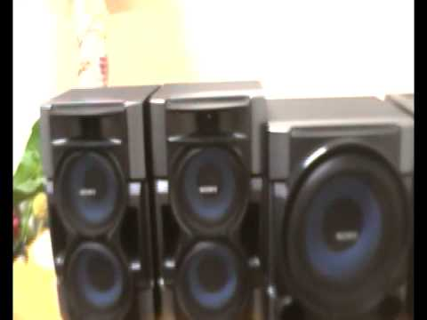 sony speakers. sony subwoofer ultra bass test (speakers sliding on the table) - youtube speakers