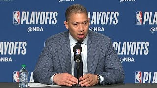 Tyronn Lue Postgame Interview | Cavaliers vs Raptors - Game 2 | May 3, 2018 | 2018 NBA Playoffs