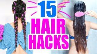 15 SCHNELLE HAIR HACKS DIE JEDEM MÄDCHEN HELFEN 🌸 FETTIGER ANSATZ, LANGE HAARE BEKOMMEN| KINDOFROSY