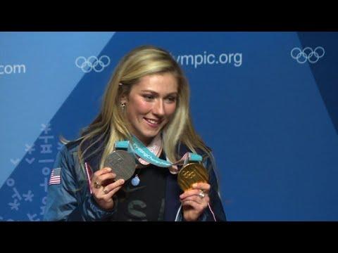 US ski stars praise Czech snowboarder Ledecka after shock win