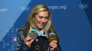 US ski stars praise Czech snowboarder Ledecka after shock win
