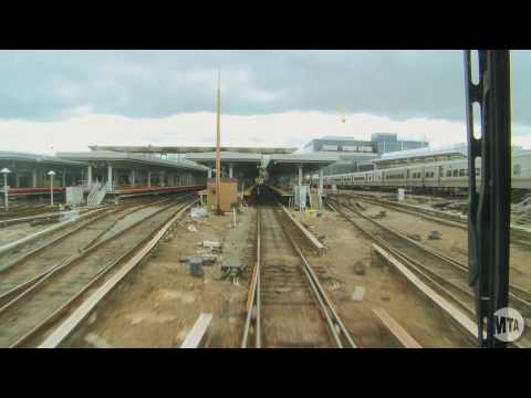 LIRR Time Lapse: Penn Station To Long Beach