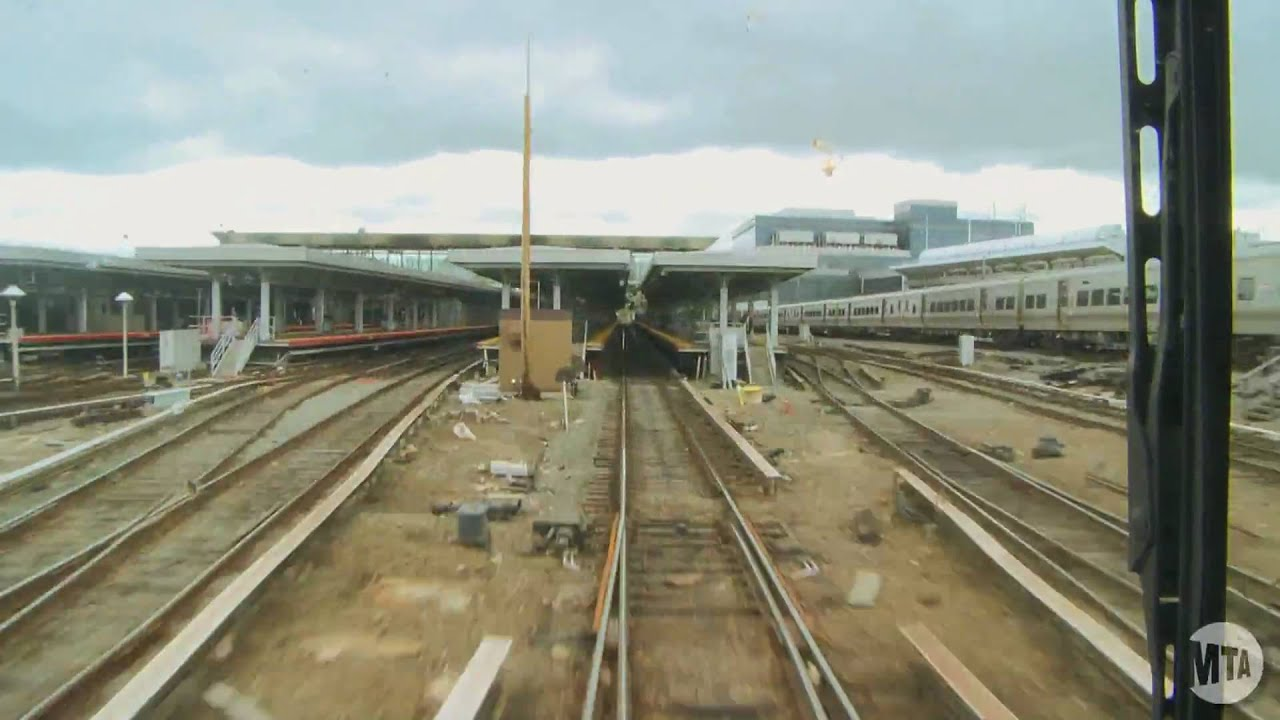 lirr time lapse  penn station to long beach