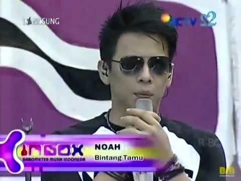 NOAH Band - Separuh Aku - LIVE INBOX 07/09/2012