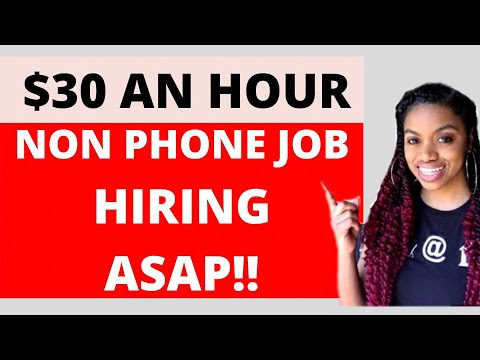 $30 Hourly Non Phone Job I Victoria Secret I Work From Home 2020
