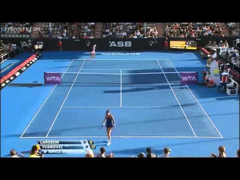 Ana Ivanovic vs Johanna Larsson