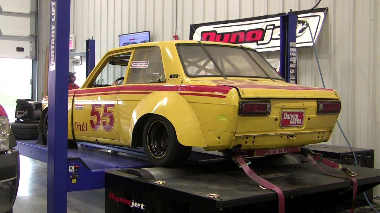 Datsun Race Car Dyno Youtube