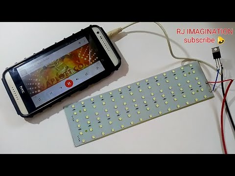 Music reactive led | How to make music reactive led's using TIP31 transistor