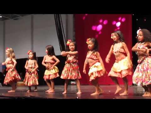 Hula Dance by Children