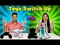 Toys Switch Up Challenge   Toys Switch Or Keep Competition