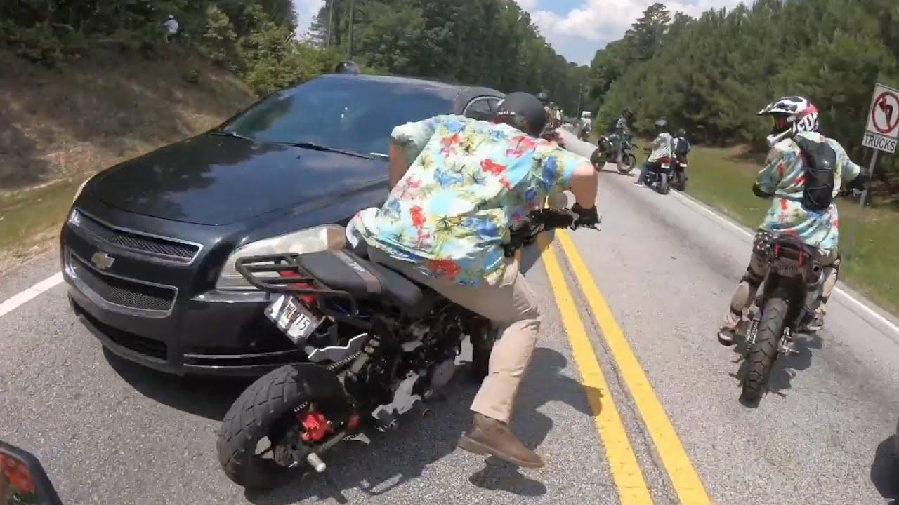 Ultimate MOTORCYCLE Crashes - 2019 #40