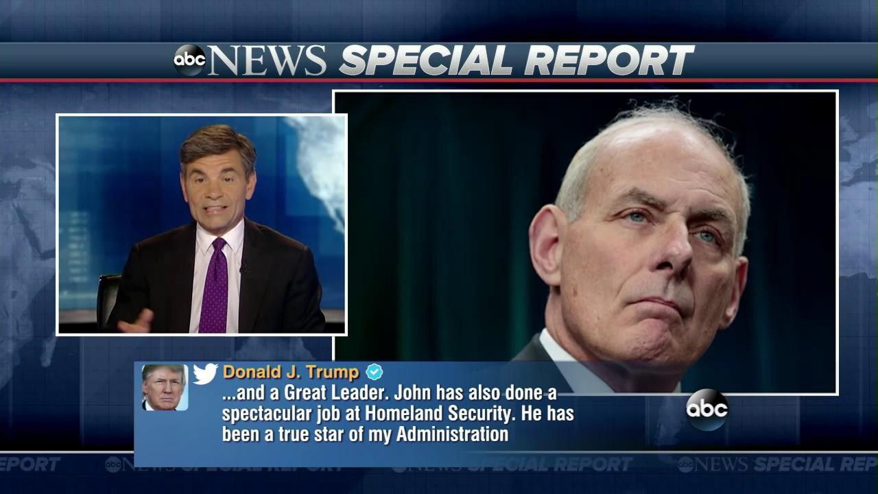 John Kelly, Trump's new chief of staff, 'won't suffer idiots and fools'