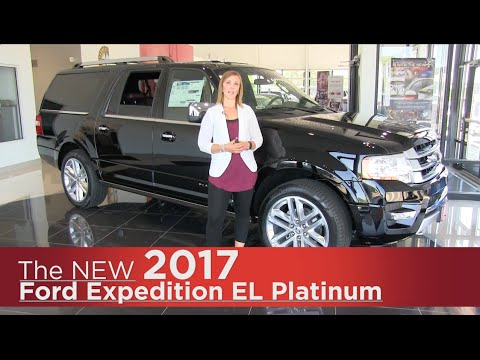 New 2017 Ford Expedition EL Platinum - Elk River, Coon Rapids, Minneapolis, St Paul, St Cloud, MN