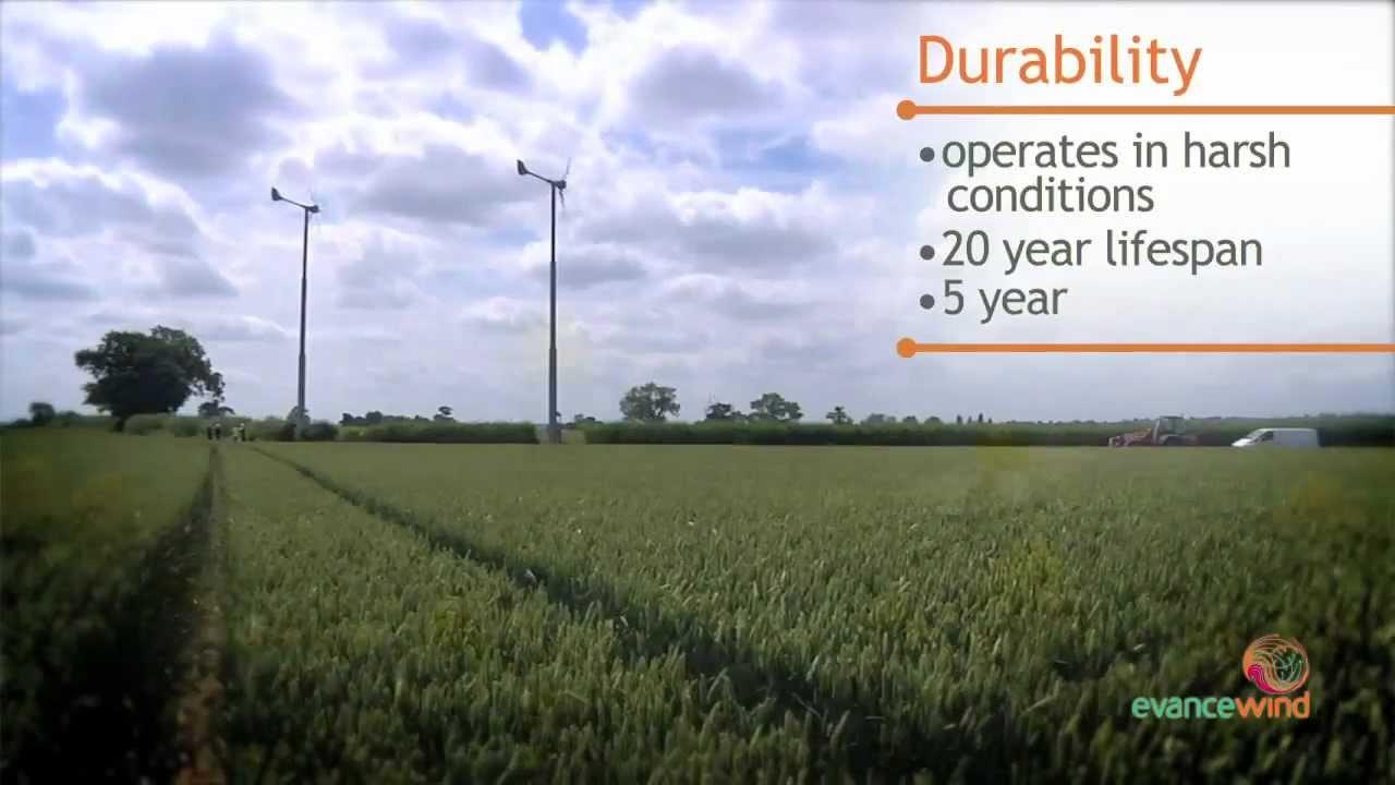 Evance R9000 5Kw wind turbine from Davies Implements Ltd