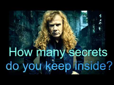 Megadeth - Poisonous Shadows - With Lyrics