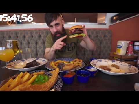 THE WETHERSPOONS 10,000 CALORIE CHEAT MEAL CHALLENGE | BeardMeatsFood