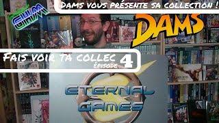 [FaisVoirTaCollec #004] Dams vous présente sa collection de jeux vidéo (room tour) !