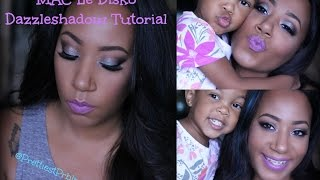 MAC Dazzleshadow Fun Summer Smokey Eye Talk Through