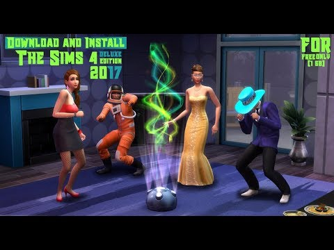 Download And Install The Sims 4: Deluxe Edition For FREE Only (1GB) | TUTORIAL