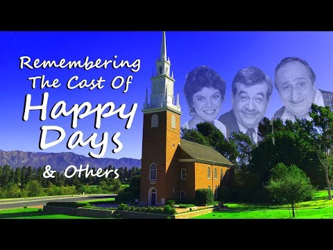 FAMOUS GRAVES: Remembering The Cast Of HAPPY DAYS--Tom Bosley, Erin Moran, Garry Marshall & Others