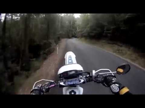 Test run hardcore moto riding through the Aussie Bush - Ylia Callan