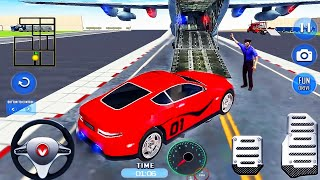 Airplane Pilot Car Transporter Simulator - Cargo Multi Trailer Transport Drive - Android GamePlay screenshot 5