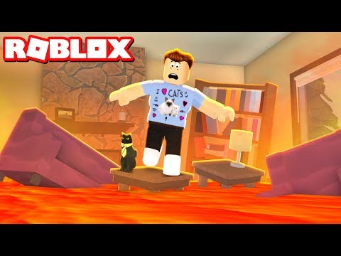 Thumbnail: THE FLOOR IS LAVA IN ROBLOX