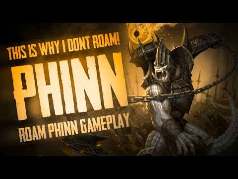 Vainglory Gameplay - Episode 253: THIS IS WHY I DONT ROAM!! Phinn |Support| Roam Gameplay  [1.24]