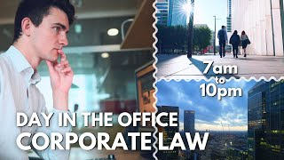 Day in My Lİfe as a CORPORATE LAWYER in London - 14 Hour Day