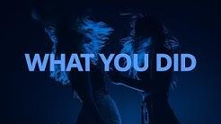Mahalia - What You Did ft. Ella Mai // Lyrics