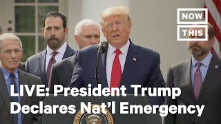 President Trump Declares National Emergency | LIVE | NowThis