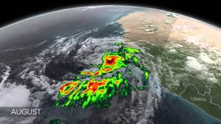 NASA | GPM - One Year of Storms