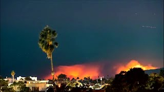 Timelapse Video Shows Woolsey Fire Lighting Up The Skies Of Malibu