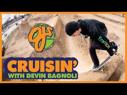CRUISIN' Denver Streets and Dirt Jumps With Devin Bagnoli | OJ Wheels