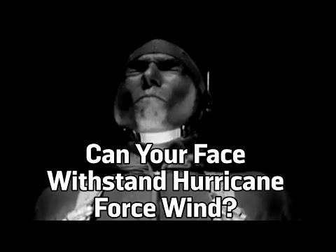 Can Your Face Withstand Hurricane Force Wind?