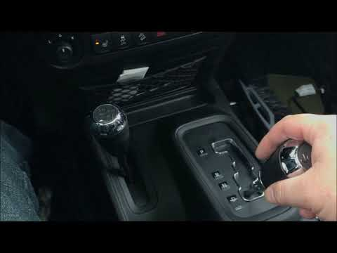 How to shift into 4 wheel drive - Jeep Wrangler JK