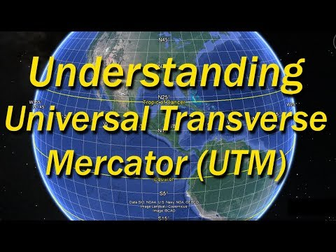 Introduction to UTM, Universal Transverse Mercator