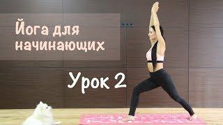 Йога для начинающих.  Урок 2. Растяжка.
