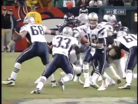 2005 AFC Divisional Playoff Game: Patriots @ Broncos