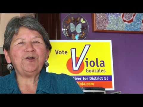 Viola Gonzales - Oakland City Council District Five Vote Viola Nov 8th