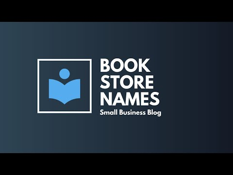 Catchy Bookstore Business Names