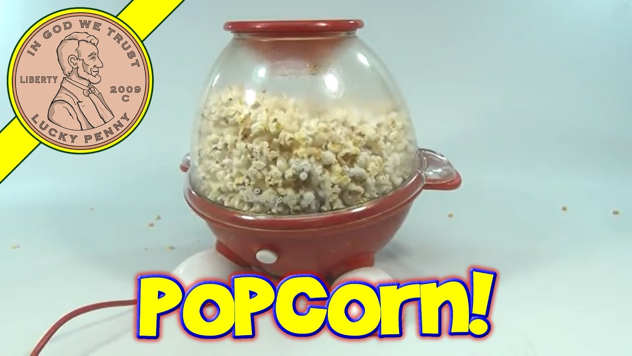 Betty crocker movie nite cinema-style kettle popcorn maker.