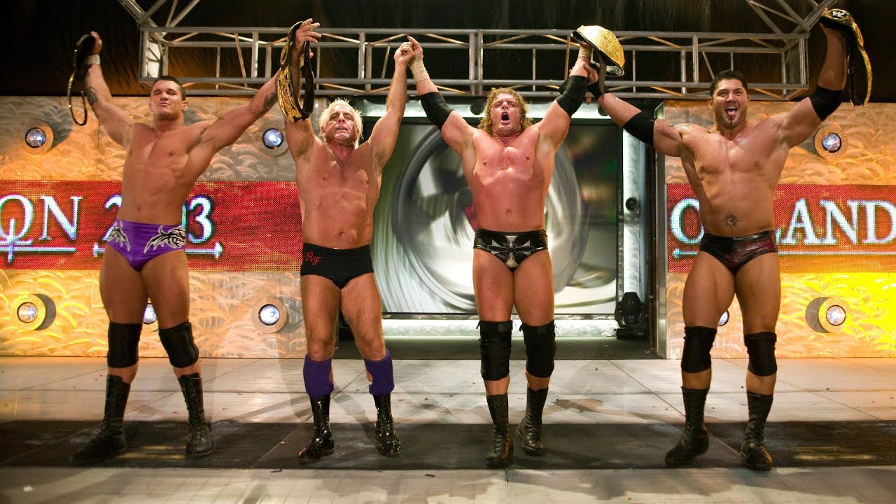 """Evolution's """"Ruthless Aggression"""" history: WWE Playlist - YouTube"""