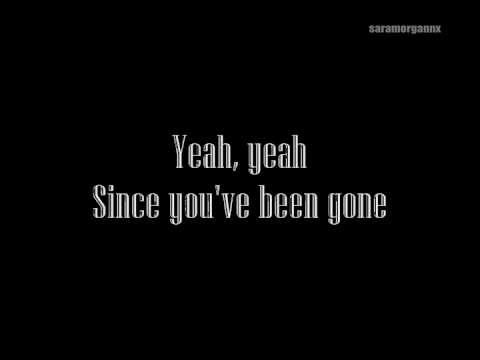 A Day to Remember ~ Since You've Been Gone [Lyrics on Screen]