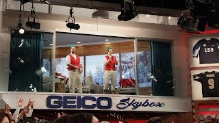 Dancing Dads Show Off Their Skills in the GEICO Skybox