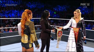 Becky Lynch and Charlotte Flair Segment SmackDown 10 22 2021